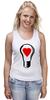 """Майка классическая """"BIG LAMP! SWITCH ON YOUR LOVE!"""" - сердце, любовь, lamp, zogs, switch on your love"""