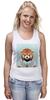 """Майка (Женская) """"Деловая панда"""" - стиль, панда, red panda, деловая, выдра"""