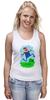 """Майка (Женская) """"Марио (Mario)"""" - nintendo, mario, марио, грибочек"""