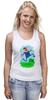 "Майка классическая ""Марио (Mario)"" - nintendo, mario, марио, грибочек"