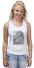 """Майка (Женская) """"Софи Лорен"""" - фото, портрет, kinoart, софи лорен, sophia loren"""
