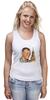 """Майка классическая """"Гагарин"""" - гагарин, космонавт, yuri gagarin, герой советского союза"""
