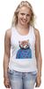 """Майка классическая """"Красная панда"""" - арт, red, девушке, panda, animal, красная панда, dressed"""