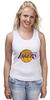 "Майка (Женская) ""Lakers"" - баскетбол, нба, лейкерс, lakers, los angeles lakers"