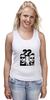 "Майка (Женская) ""Мачо и ботан"" - комедия, мачо и бота, ченнинг татум, 22 jump street, jonah hill, channing tatum"