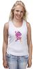 "Майка (Женская) ""My Little Pony: Friendship is Magic Logo"" - rainbow dash, my little pony, applejack, rarity, friendship is magic, fluttershy, twilight sparkle, pinkie pie"
