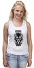 "Майка классическая ""Lycanthrope"" - арт, мандала, волк, оборотень, wolf, werewolf, вензель, mandala"