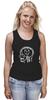 "Майка (Женская) ""Skull WOT"" - прикол, games, игры, игра, game, brain, логотип, world of tanks, танки, wot"