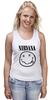 "Майка (Женская) ""Nirvana (Нирвана)"" - nirvana, нирвана"