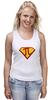 """Майка (Женская) """"Супер Пи (Super Pi)"""" - математика, 14 марта, число пи, день числа пи"""