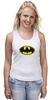 """Майка (Женская) """"Бэтман"""" - batman, супергерой, бэтман"""