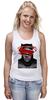 """Майка (Женская) """"бэтмен"""" - batman, superman, бэтмен, супермэн, бэтмэн, n"""
