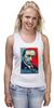 """Майка классическая """"Путин """" - арт, путин, putin, власть, authority"""
