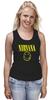 "Майка (Женская) ""Nirvana"" - nirvana, рок, курт кобейн, нирвана, куртка бейна"