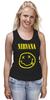 "Майка (Женская) ""Nirvana "" - nirvana, рок, kurt cobain, курт кобейн, нирвана"