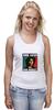 """Майка (Женская) """"Bob Marley """" - любовь, регги, боб марли, reggae, ska, jamaica"""