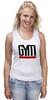"""Майка (Женская) """"GYM ULTIMATE"""" - gym, мотивация, сила, стремление, спортзал"""