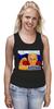 """Майка (Женская) """"Putin"""" - россия, russia, путин, президент, putin"""