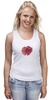 """Майка (Женская) """"Стилизованный  винтажный арт-цветок"""" - арт, авторские майки, цветы, узор, стиль, flower, рисунок, винтаж, мак, poppy"""