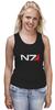 "Майка классическая ""N7 (Mass Effect)"" - mass effect, n7, масс эффект"