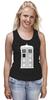 "Майка (Женская) ""Tardis (Тардис)"" - сериал, doctor who, tardis, доктор кто, машина времени, телефонная будка, time machine, phone box"