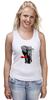 """Майка (Женская) """" Классный Слон"""" - слон, слоник, африканский слон, индийский слон"""