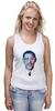 """Майка (Женская) """"Барак Обама"""" - арт, usa, сша, президент, president, barack obama"""