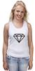 """Майка классическая """"Стерео Бриллиант"""" - style, подарок, swag, стерео, бриллиант, diamond"""
