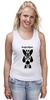 """Майка классическая """"Watchmen - Rorschach"""" - comics, черно-белая, комиксы, кино, cinema, черное и белое, rorschach, хранители, супергерои, socium"""
