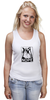 "Майка классическая ""Сердитый котик / Grumpy Cat (Штамп)"" - кот, котэ, grumpy, grumpy cat, сердитый кот, унылый кот, грампи, грумпи"