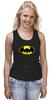 """Майка (Женская) """"Dead Batman"""" - batman, бэтман"""