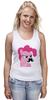 "Майка классическая ""Pinkie Pie moustaches"" - mlp, my little pony, пони, friendship, пинки пай"