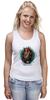 """Майка (Женская) """"Tard Sparrow """" - кот, арт, стиль, cat, пират, pirate"""