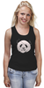 """Майка (Женская) """"Панда Пират"""" - bear, медведь, панда, panda, пират"""