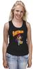 "Майка (Женская) ""бартмен"" - batman, симпсоны, dc, the simpsons, bartman, bart, bart simpson"