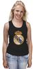 """Майка (Женская) """"Реал Мадрид"""" - футбол, real madrid, реал мадрид, роналду, футбольный клуб"""