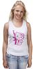 "Майка классическая ""Hello Kitty AK-47"" - hello kitty, ak 47, angry kitty"