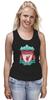 """Майка (Женская) """"Liverpool (Ливерпуль)"""" - football, uk, ливерпуль, liverpool, футбольный клуб"""