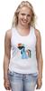 """Майка (Женская) """"My Little Pony - Rainbow Dash (Радуга)"""" - радуга, pony, rainbow dash, mlp, пони"""