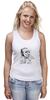 "Майка классическая ""Чарльз Буковски(Charles Bukowski)"" - буковски, bukowski, чарльз буковски, charles bukowski"