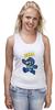 """Майка классическая """"Super Mario (Mega Man)"""" - nintendo, марио, mario bros"""