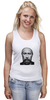 """Майка (Женская) """"Путин с бородой"""" - путин, борода, putin"""