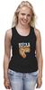 """Майка (Женская) """"Мышь и пицца. Парные футболки."""" - парные, ко дню влюбленных, мышь и пицца, всегда вместе, надписи для двоих"""