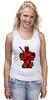 "Майка (Женская) ""Deadpool "" - deadpool, дедпул"