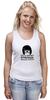 """Майка классическая """"Умная, сильная женщина (Тина Белчер)"""" - strong, smart, закусочная боба, bob's burgers, sensual"""