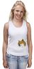 """Майка (Женская) """"Doge WOW!"""" - интернет, мем, wow, doge, собакен"""
