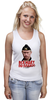 """Майка (Женская) """"Путин. Все идет по плану!"""" - путин, президент, putin, патриотические футболки"""