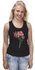 """Майка (Женская) """"розы"""" - цветы, акварель, розы"""