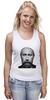 """Майка классическая """"Путин с бородой"""" - путин, борода, putin"""