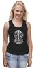 """Майка (Женская) """"Art Horror"""" - skull, череп, слон, черепа и кости, elefant"""